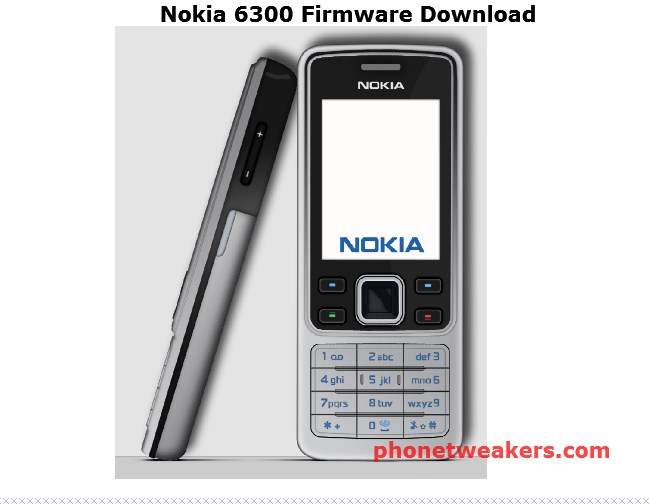 Nokia 6300 Latest Firmware/Flash file download 1