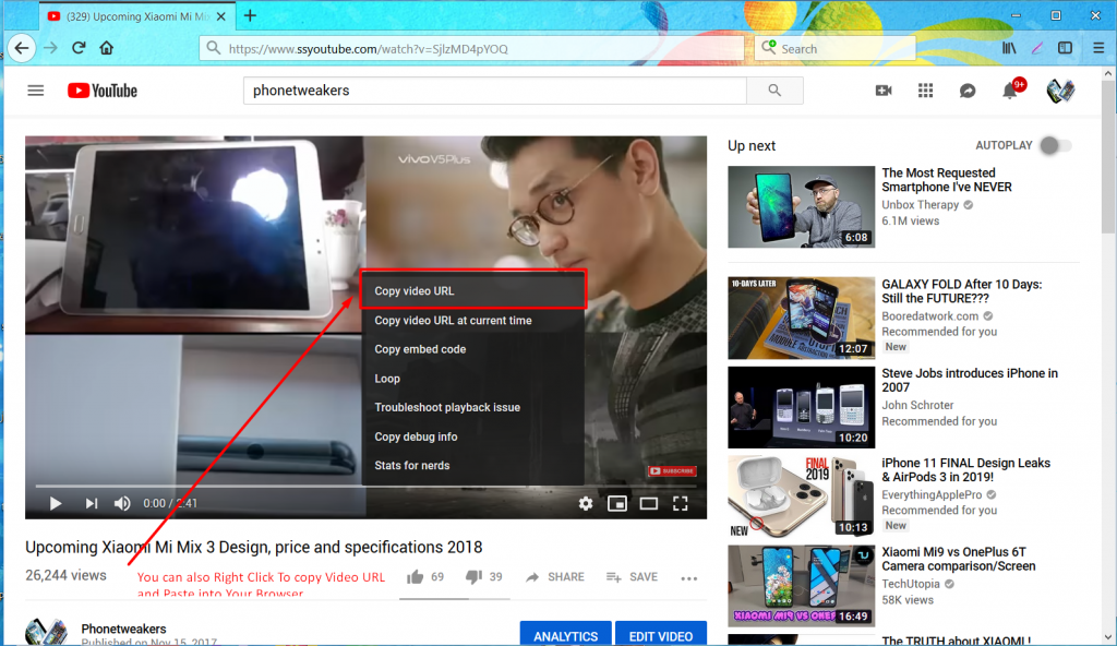 How to Download Youtube Video with 'ss' trick (Updated 2019 with screenshots) 17