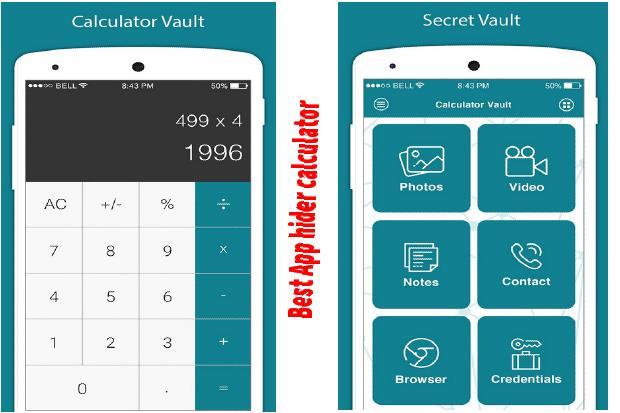 App hider calculator