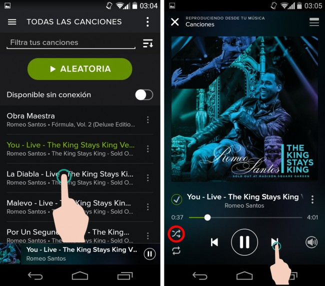 How to use Spotify Premium free on an Android, PC and MAC (No Limitations and APK) 9