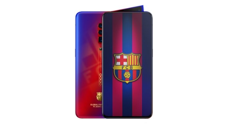 OPPO Reno FC Barcelona edition: Special models with striking team emblems and gradient colors 11