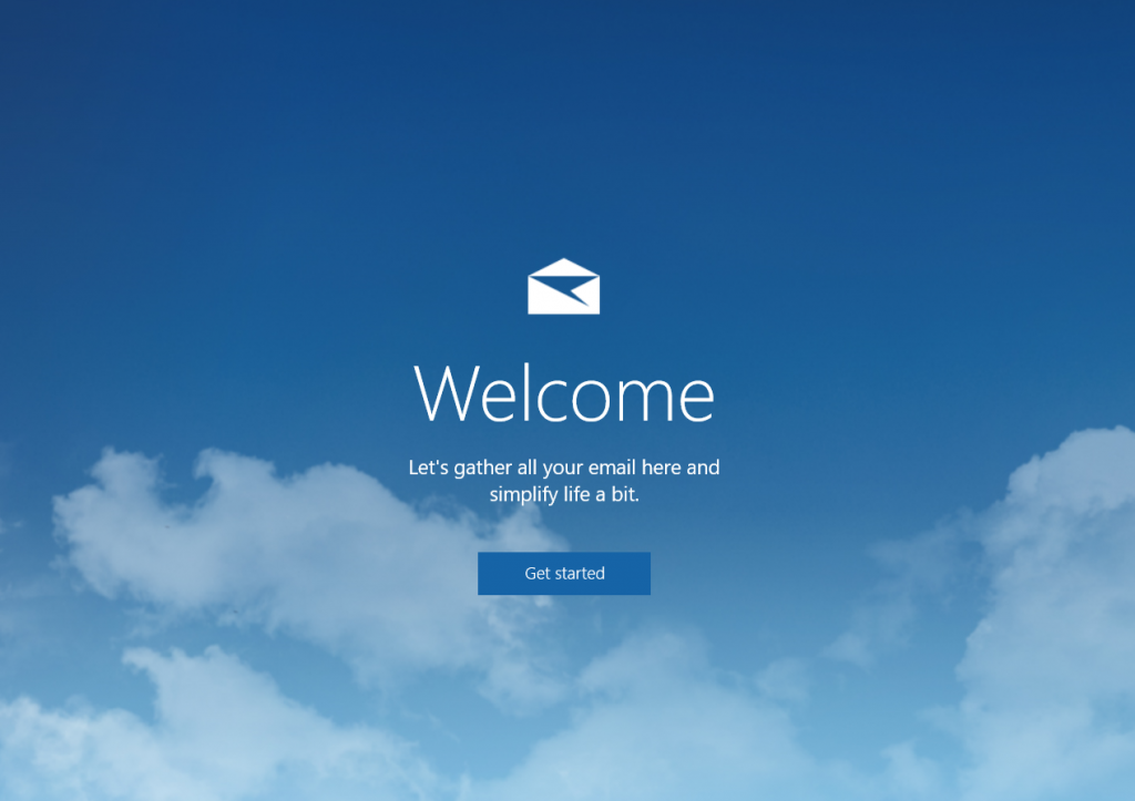 Microsoft Mail application