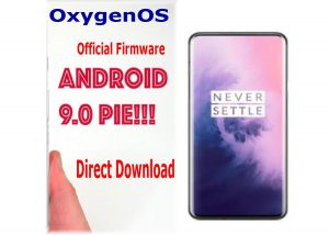 (Download OxygenOS) Official Stock Android 9.0 firmware for OnePlus 7 1