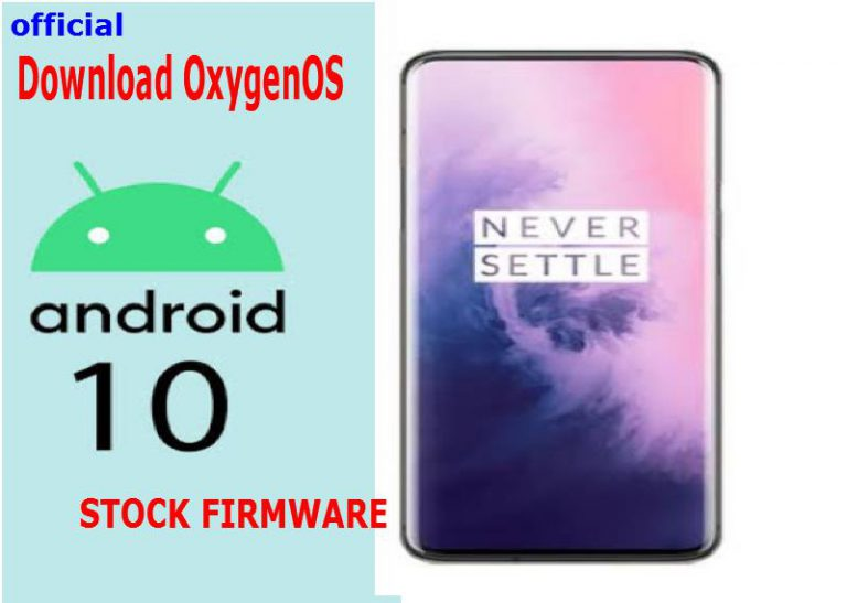 (Download OxygenOS) Official Stock Android 10 firmware for OnePlus 7