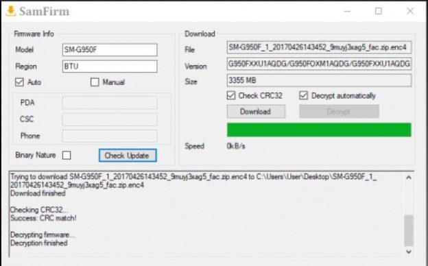 samfirm download samsung firmware complete