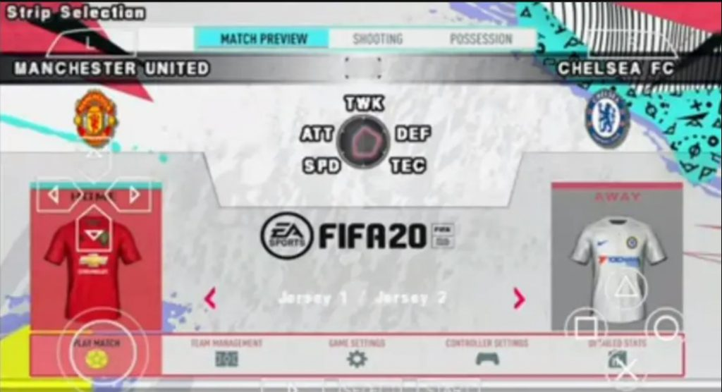 fifa-2020-ppsspp-iso-gameplay-formation