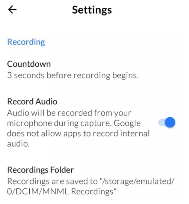 mnml-screen-recorder-settings-folder