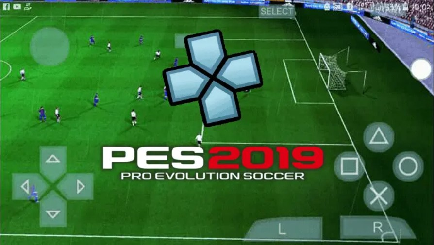 pes 2019 ppsspp iso gameplay