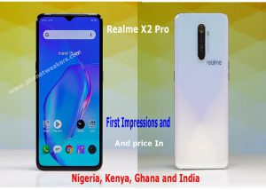 Realme X2 Pro Hands-On Review, Specs and price List In Nigeria, Ghana, India and kenya. 1