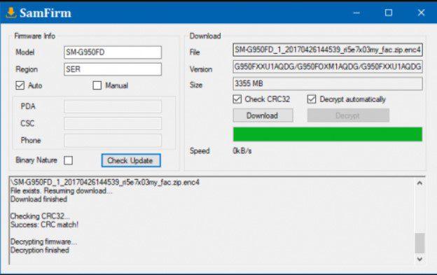 samfirm tool download