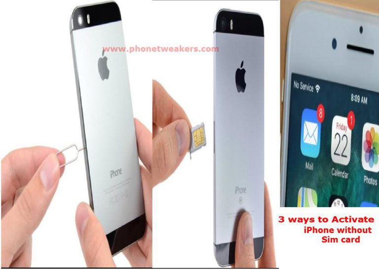 3 ways to Activate iPhone without Sim card