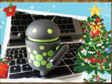 Create free Christmas cards on Android