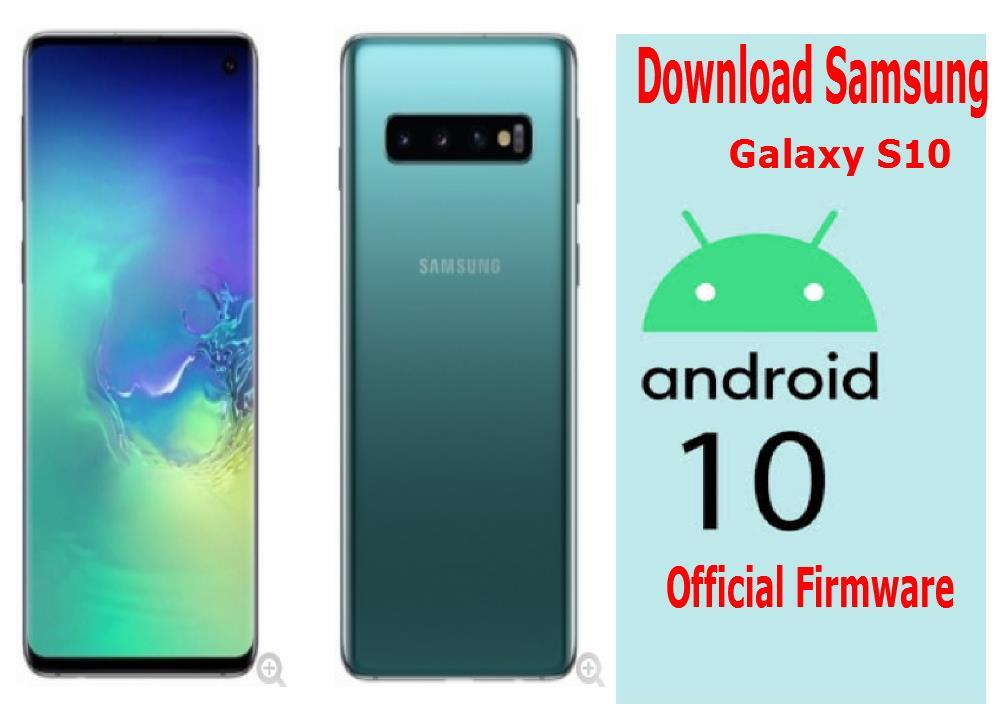 Samsung SM-G973F Galaxy S10 - Official firmware