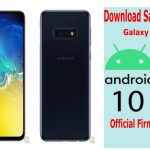 samsung-galaxy-s10e-android-10-firmware download