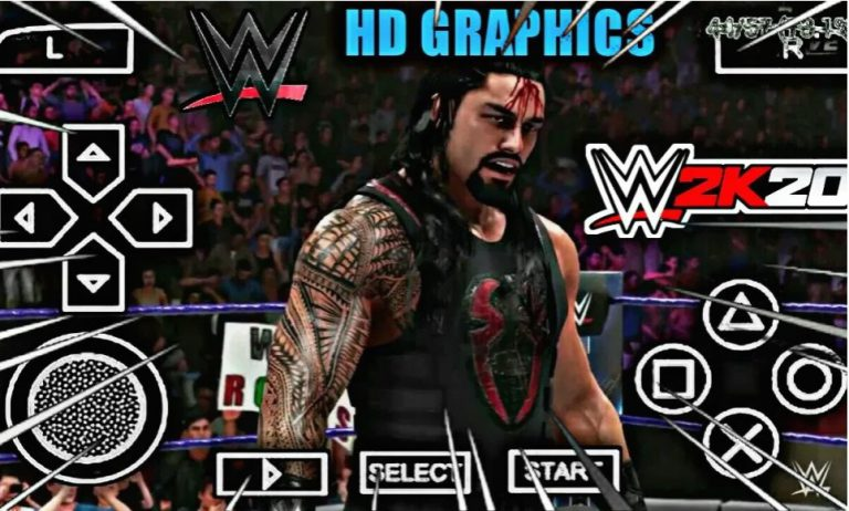Download wwe 2k20 iso ppsspp and play on PPSSPP GOLD