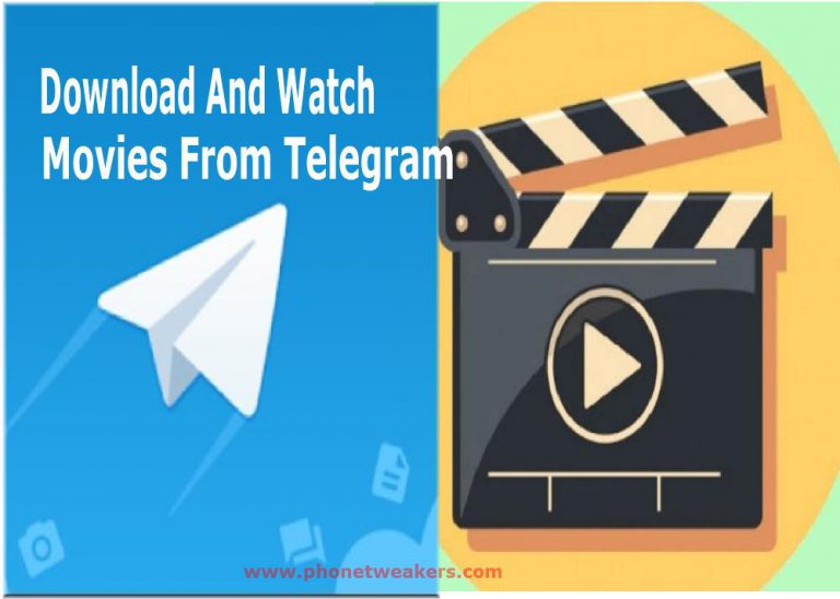 2 Ways to stream and download movies from telegram