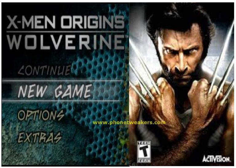 [Download] X-Men Origins Wolverine ppsspp emulator – PSP APK Iso highly compressed 200MB