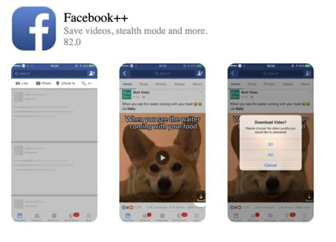 facebook++ iphone ipad