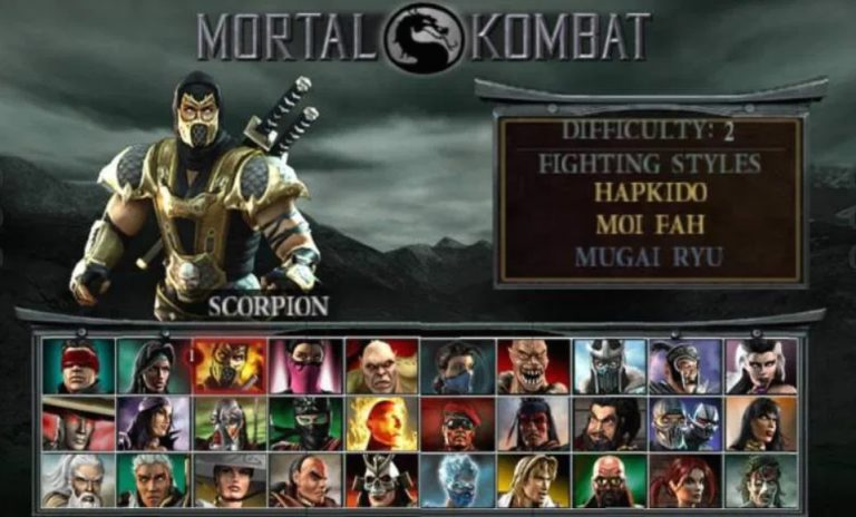 Download Mortal Kombat Unchained iso ppsspp Highly Compressed 148MB and play on PPSSPP GOLD Emulator