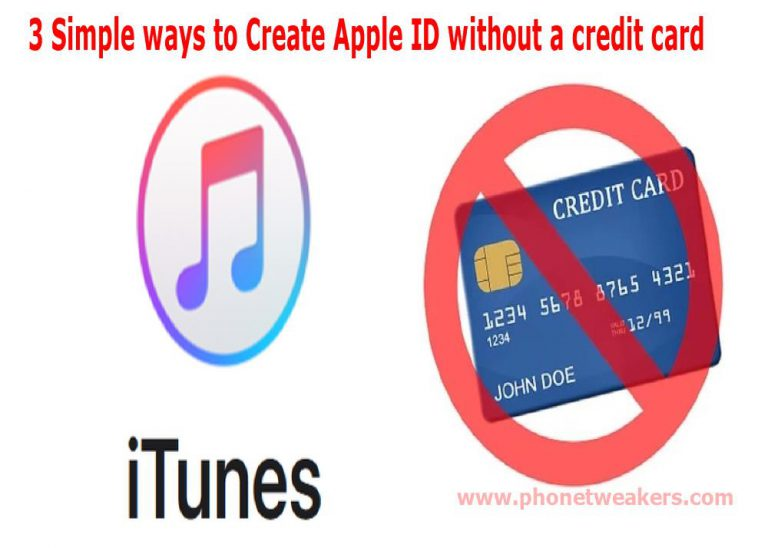 3 Simple ways to Create Apple ID without a credit card