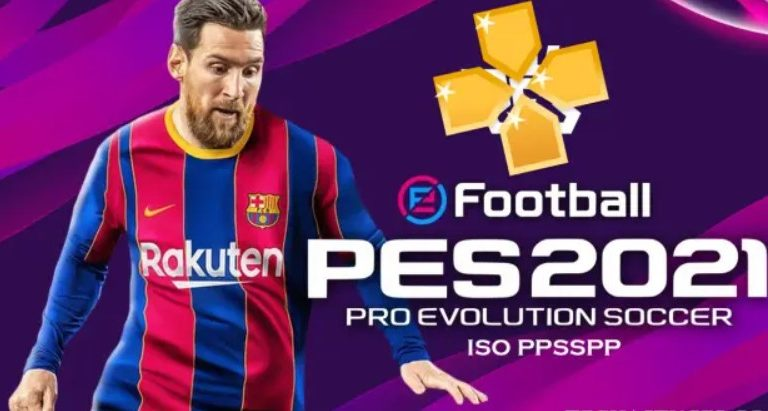 Download and install PES 2021 ISO PPSSPP Offline | PS4 / PS5 Camera