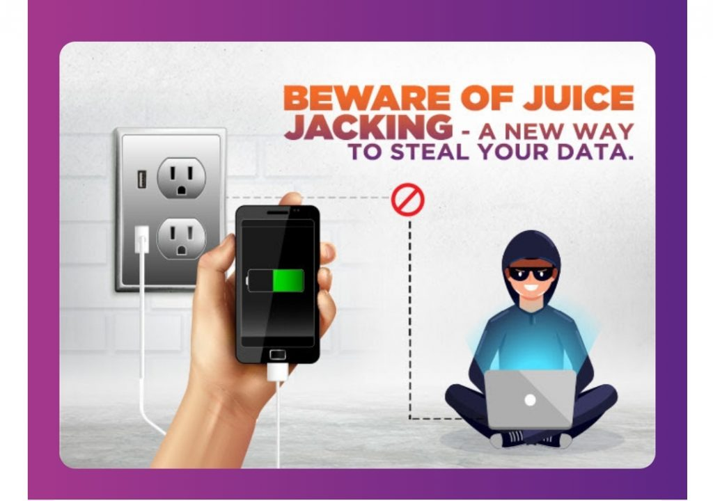 (Fraud Alert!!) Beware of Juice Jacking- A new way to steal your data 1
