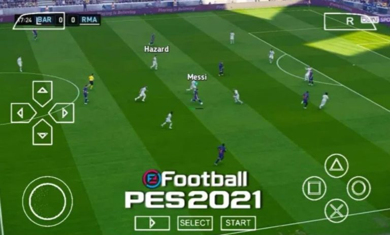 Download PES 2021 Iso with PS5 camera ppsspp emulator – PSP APK Iso (Save Data and Texture)