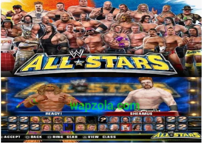 [Download] WWE ALL STARS PSP ISO ppsspp emulator – PSP APK Iso highly compressed 50MB
