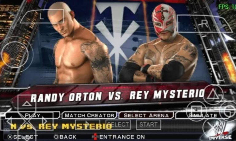 Download wwe smackdown vs raw 2011 psp iso free and play with PPSSPP emulator APK