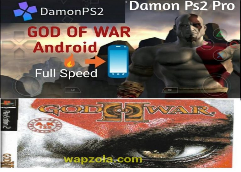 [Download] God Of War 1 DamonPS2 and PCSX2 emulator – PS2 APK ISO highly compressed play Android and pc