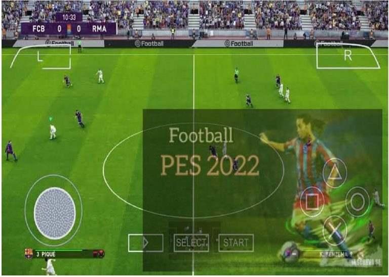 [Download] PES 2022 PPSSPP ISO – Texture & Savedata PSP Emulator(PS5 and PS4 Camera)