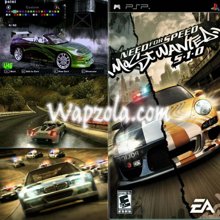 [Download] Need For Speed Most Wanted iso ppsspp emulator – PSP APK Iso highly compressed 60MB