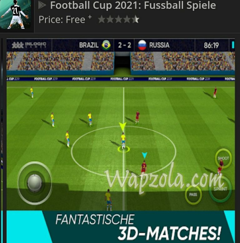 Download Soccer World Cup 2021 apk + data + Obb + Mod (Offline and free coins)