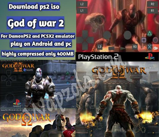 download god of war 2 damonps2 highly compressed