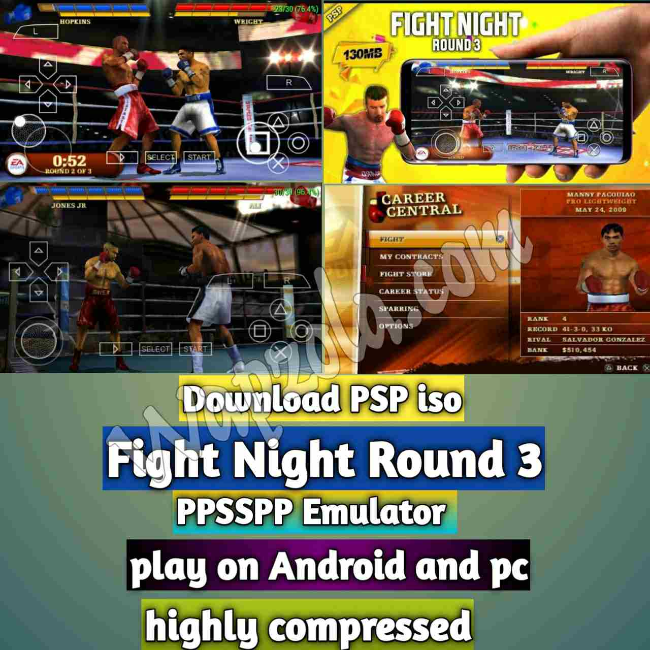 fight_night_round_3_ppsspp_iso_compressed_download