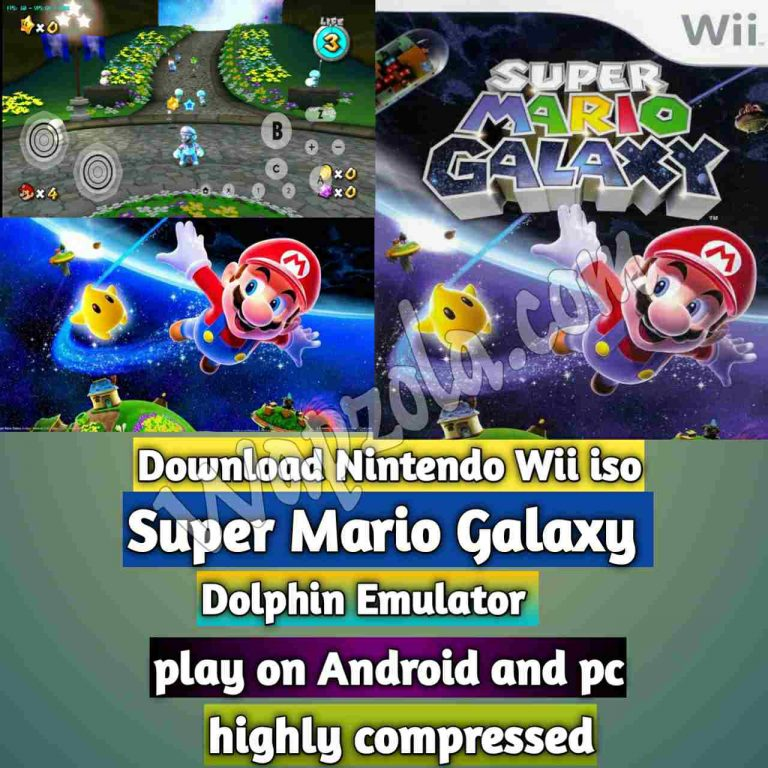[Download] Super Mario Galaxy Wii ISO and Play with Dolphin Emulator on Android and pc highly compressed