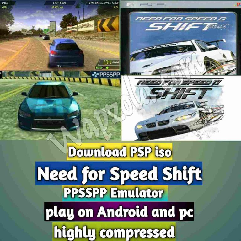 [Download] Need for Speed: Shift iso ppsspp emulator – PSP APK Iso ROM highly compressed 500MB