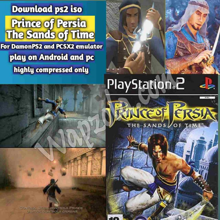 [Download] Prince of Persia: The Sands of Time DamonPS2 and PCSX2 emulator – PS2 APK ISO ROM highly compressed play Android and pc