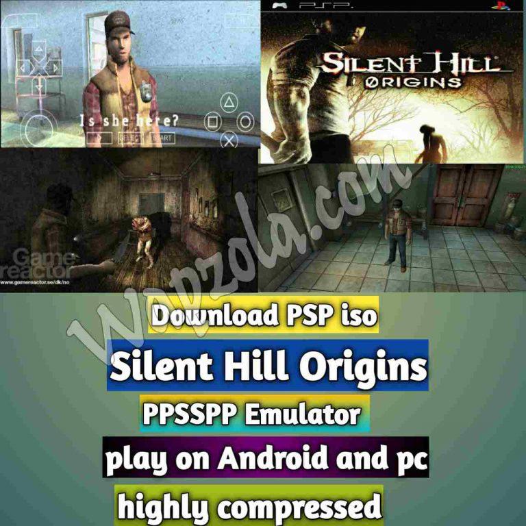 [Download] Silent Hill: Origins iso ppsspp emulator – PSP APK Iso ROM highly compressed 300MB