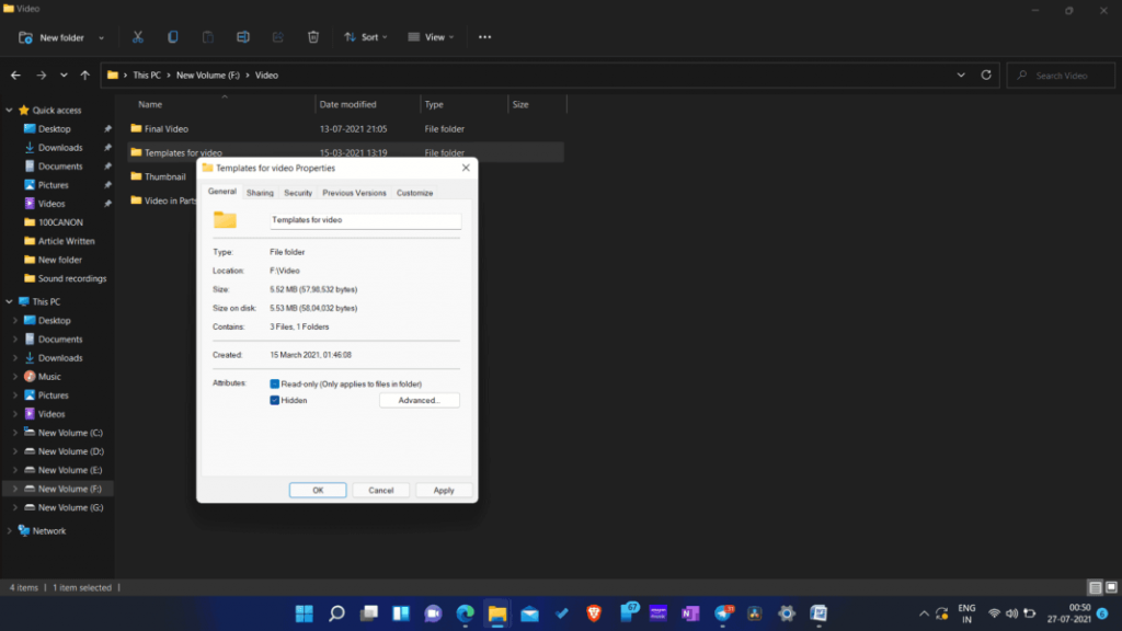 Hiding-Files-folders-windows-11