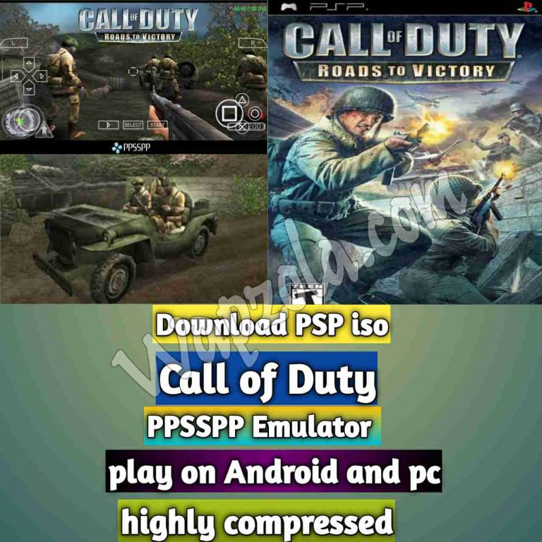 [Download] Call of Duty: Roads to Victory iso ppsspp emulator – PSP APK Iso ROM highly compressed 100MB