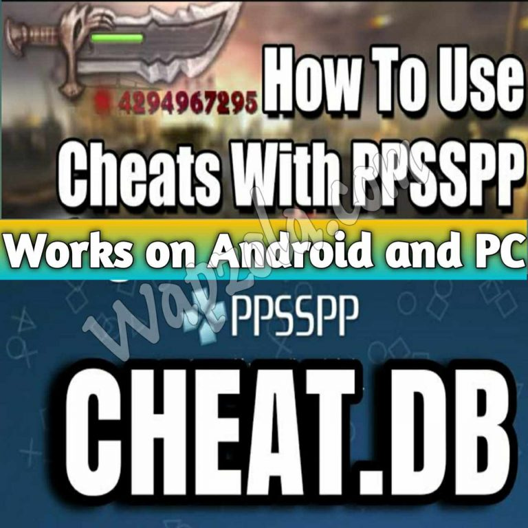 [Descargar] cheat.db zip/Cwcheat Database 2021 for PPSSPP Emulator apk funciona en Android y PC