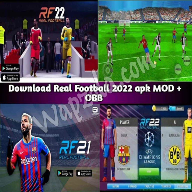 [Download] Real Football 2022 apk mod obb +data Offline (Only 190MB)